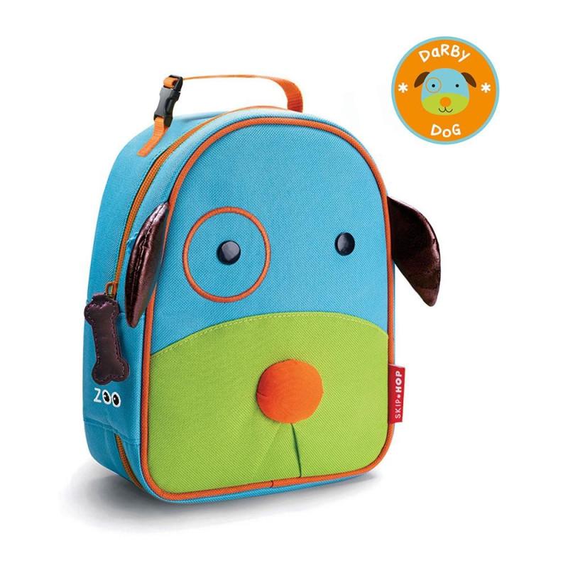 79e03e8461cf3a Lancheira Térmica Infantil Skip Hop Cachorro Zoo B-17-002