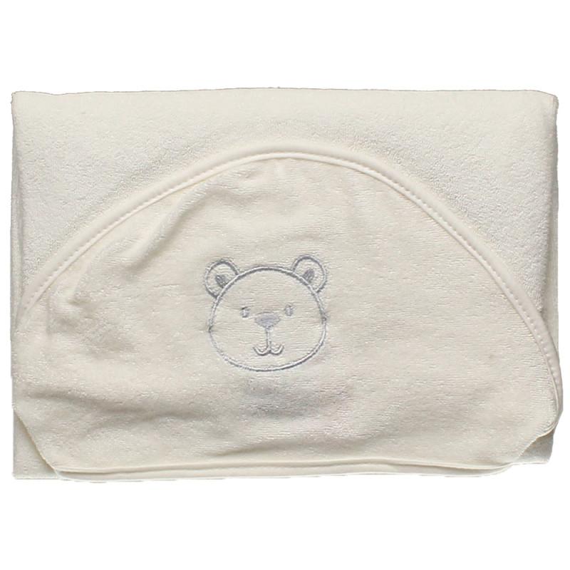 6634e43ebb Toalha de Banho Hug Little Dreamer Off White e Azul - E11415