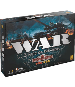 Jogo de Estratégia Grow War Edição Especial 10+