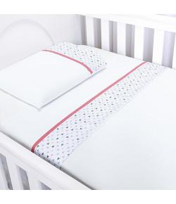 Jogo de Lençol Para Berço Batistela Baby Lhama 3 Peças - 02035