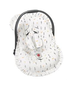 Capa Para Bebê Conforto Batistela Baby Raposa - 02063