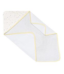 Toalha de Banho com Capuz Batistela Baby Triângulo Colorido - 02515