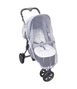 Mosquiteiro Para Carrinho Batistela Baby Branco - 02560