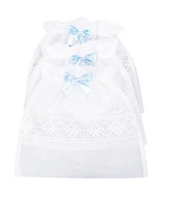 Saquinho Maternidade Batistela Baby Azul 3 Peças - 02564