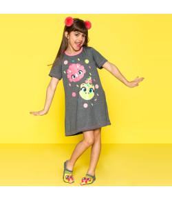 Camisola Infantil Puket Dina Cinza - 030401831