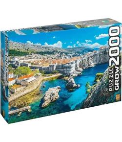 Quebra-Cabeça Grow Puzzle Dubrovnik 2000 Peças 12+