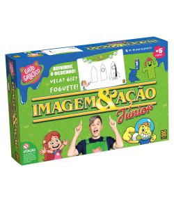 Jogo de Raciocínio Grow Imagem & Ação Junior Gato Galactico 5+