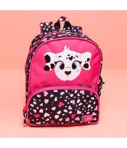 Mochila Escolar Pequena Puket Dálmata Pink MA18 - 050401245