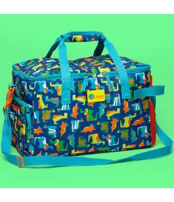 Bolsa Cooler Puket Dino Azul e Laranja - 050401497