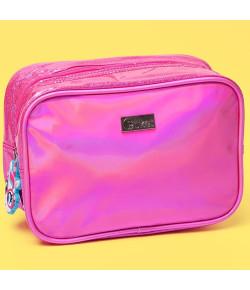 Nécessaire Média Puket Unicórnio Glitter Pink - 050401667