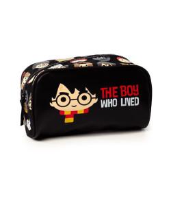Necessaire Média Puket Harry Potter Preto - 050402009