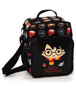 Lancheira Escolar Puket Harry Potter Preto - 050402011