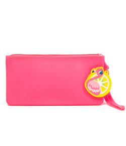 Porta Treco de Silicone Puket Flamingo