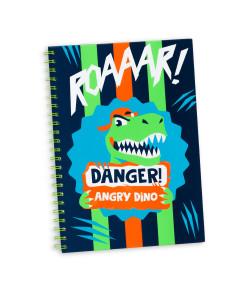 Caderno A4 Puket Dino