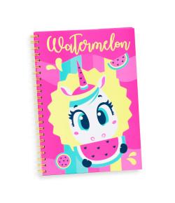 Caderno A4 Puket Unicórnio