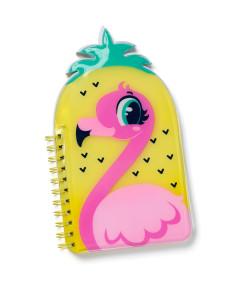 Caderno Shape Puket Flamingo