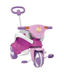 Triciclo Infantil Xalingo 3 em 1 Happy Pink