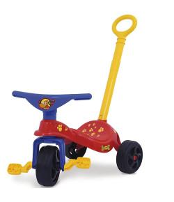 Triciclo Infantil Xalingo com Empurrador Cachorrinho