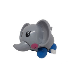 Brinquedo Buba Elefantinho Feliz Cinza 6m+ - 08295/12