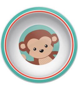 Pratinho Bowl Buba Animal Fun Macaco  - 08977