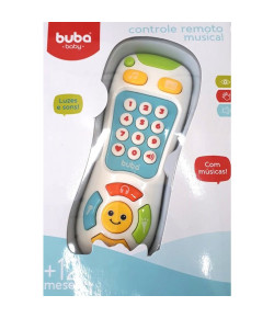 Controle Remoto Musical Buba Branco 12m+ - 09686