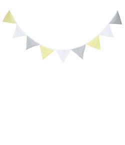 Bandeirinha Decorativa Batistela Baby Amarelo - 10002
