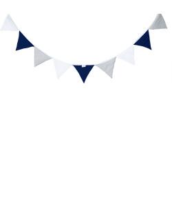 Bandeirinha Decorativa Batistela Baby Azul Marinho - 10002