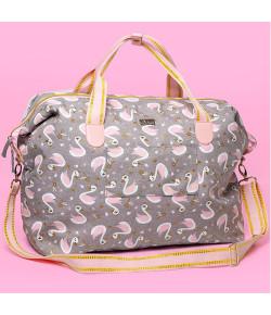 Bolsa Bag Grande Puket Cisne Cinza - 100400202