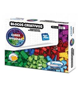 Blocos de Montar Criativos Xalingo Coloridos