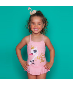 Maio Tule Kids Puket Cisne Rosa (110400434)