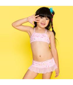 Biquini com Tule Kids Puket Cisne Rosa (110400436)