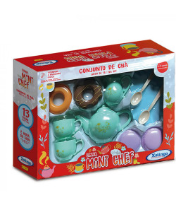 Conjunto de Chá Infantil Xalingo Mini Chef