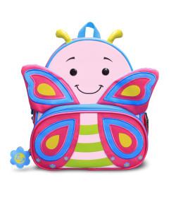 Mochila Infantil Let's Go Comtac Borboleta Cindy 3+ - 4041