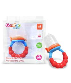 Alimentador de Frutas para Bebê Silicone Comtac 6m+ - 4124