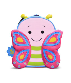 Lancheira Térmica Infantil Let´s Go Comtac Borboleta Cindy 3+ - 4042