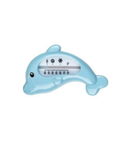 Termômetro Para Banheira Kababy Golfinho Azul - 22040A