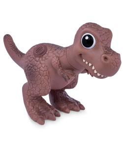 Dinossauro Dino World Baby Cotiplás T Rex Marrom
