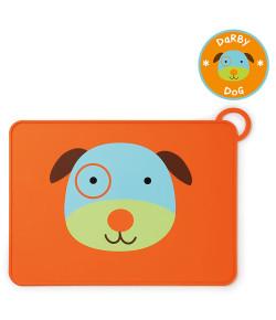 Jogo Americano Skip Hop Cachorro Zoo Laranja - A-24-002