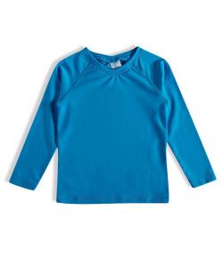 Camiseta Praia Manga Longa Tip Top Azul Turquesa | Tamanho: 16