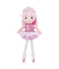 Boneca de Pano Buba Princesa Bailarina Rosa - 2842