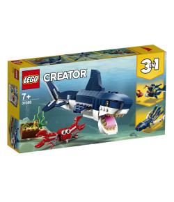 Lego Creator Modelo 3 em 1 Criaturas do Fundo do Mar 7+ 31088