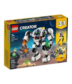 Lego Creator 3 em 1 Robô de Mineração Espacial 7+ 31115