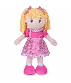 Boneca de Pano Buba Marli Rosa - 3126
