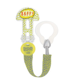 Prendedor de Chupeta Mam Clip It! & Cover Happy Verde - 3142