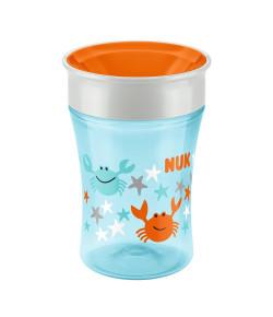 Copo de Treinamento Nuk Magic Cup 360° Azul e Laranja 230ml PA750082-UB