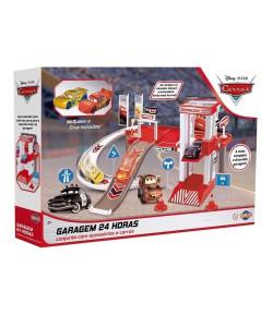 Kit Garagem 24h Relâmpago McQueen e Cruz - Toyng