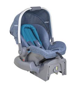 Bebê Conforto Caracol Para Carrinho Moon Kiddo Melange Turquesa - 411MTS