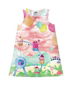 Vestido infantil marlan