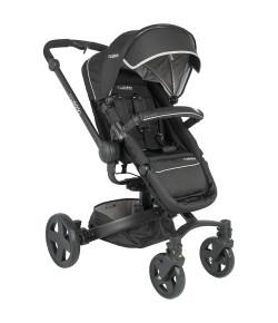 Carrinho de Bebê Lenox Kiddo Spin 360° Xadrez Preto - 5107XP