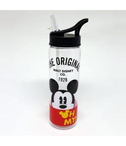 Garrafa Plástica Dermiwil Mickey Preto 670ml - 51925